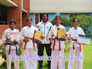 Karate -District Champions